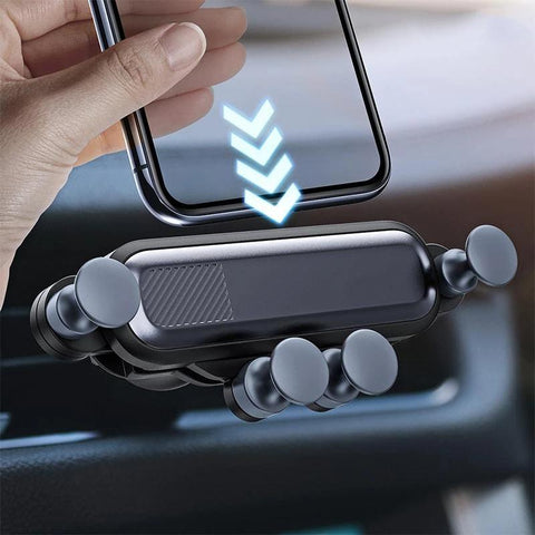 Support Voiture Telephone sur Grille d'Aeration