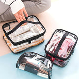 Trousse Maquillage Transparent Professionnelle