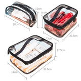 Trousse Maquillage Transparent taille