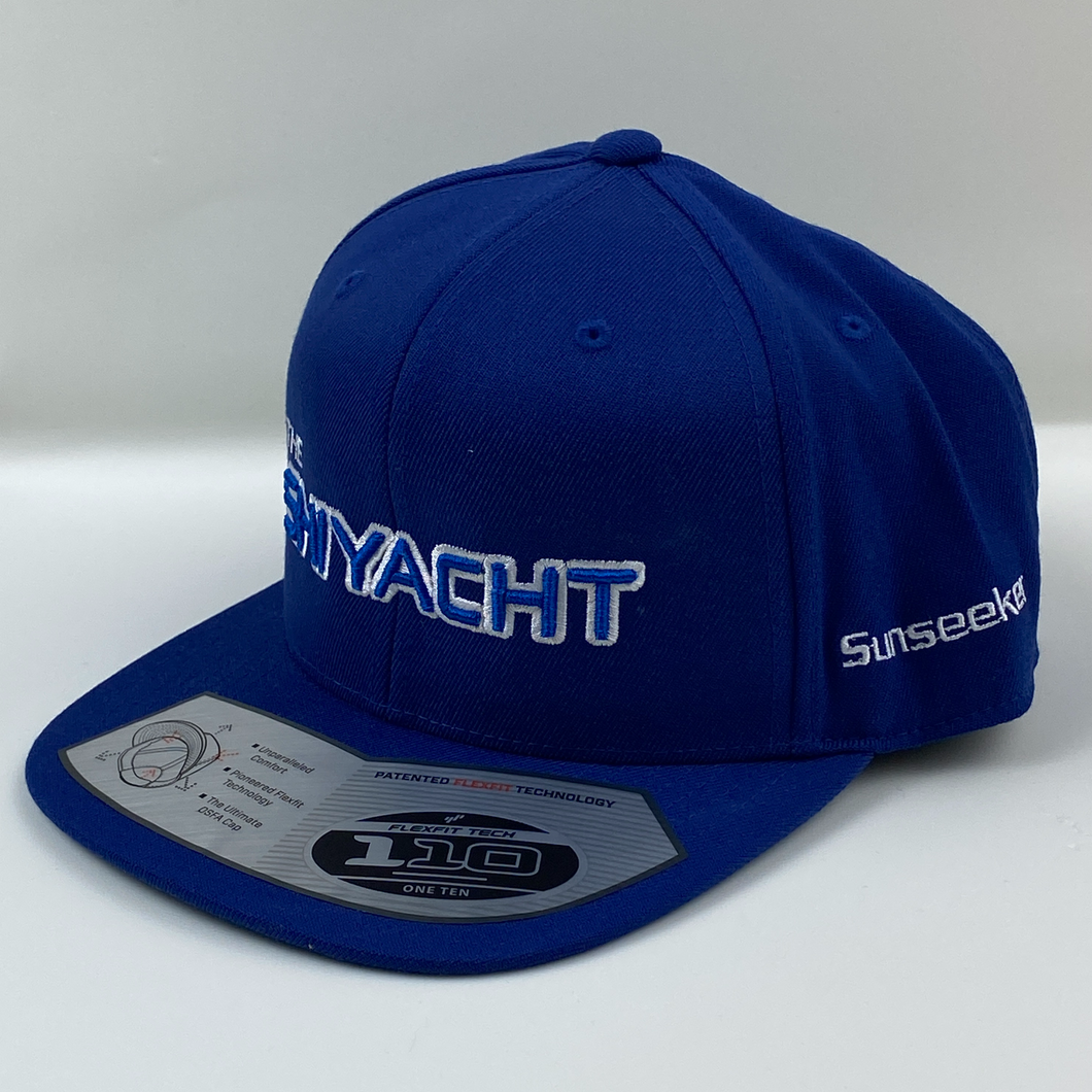 Royal blue baseball hat