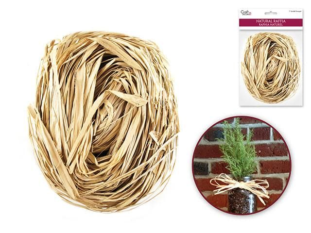 2oz Raffia Natural