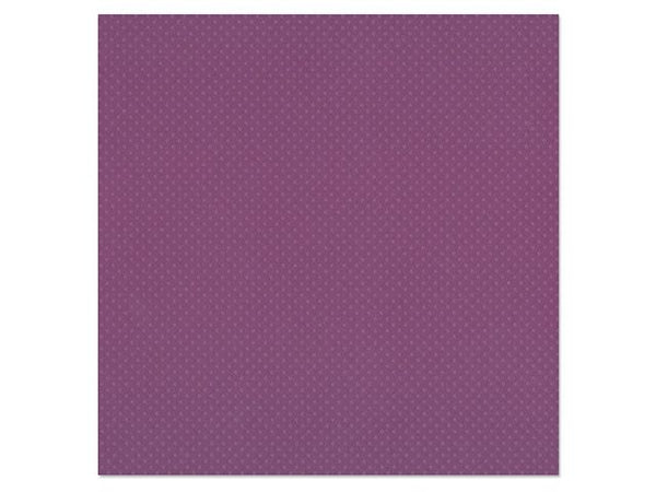 Bazzill Cardstock: 12''x12'' Dotted Swiss Barcoded 3083 Plum Pudding
