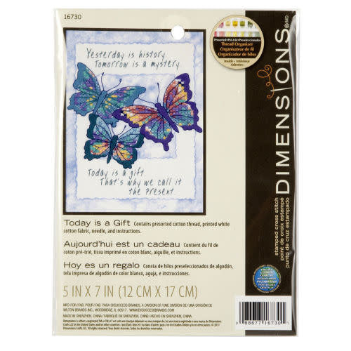 Dimensions Cross Stitch Kit - Today is a Gift