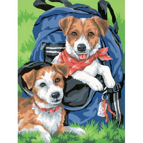 Back Pack Buddies, Paint by Number