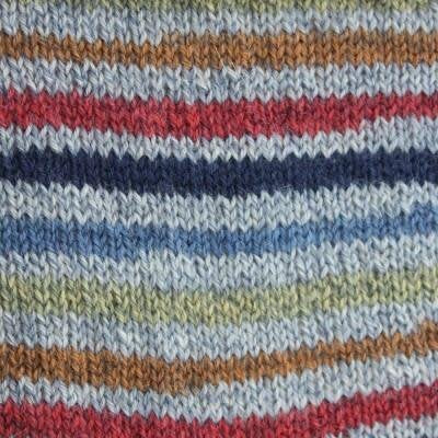 Kroy Sock Blue Striped Ragg