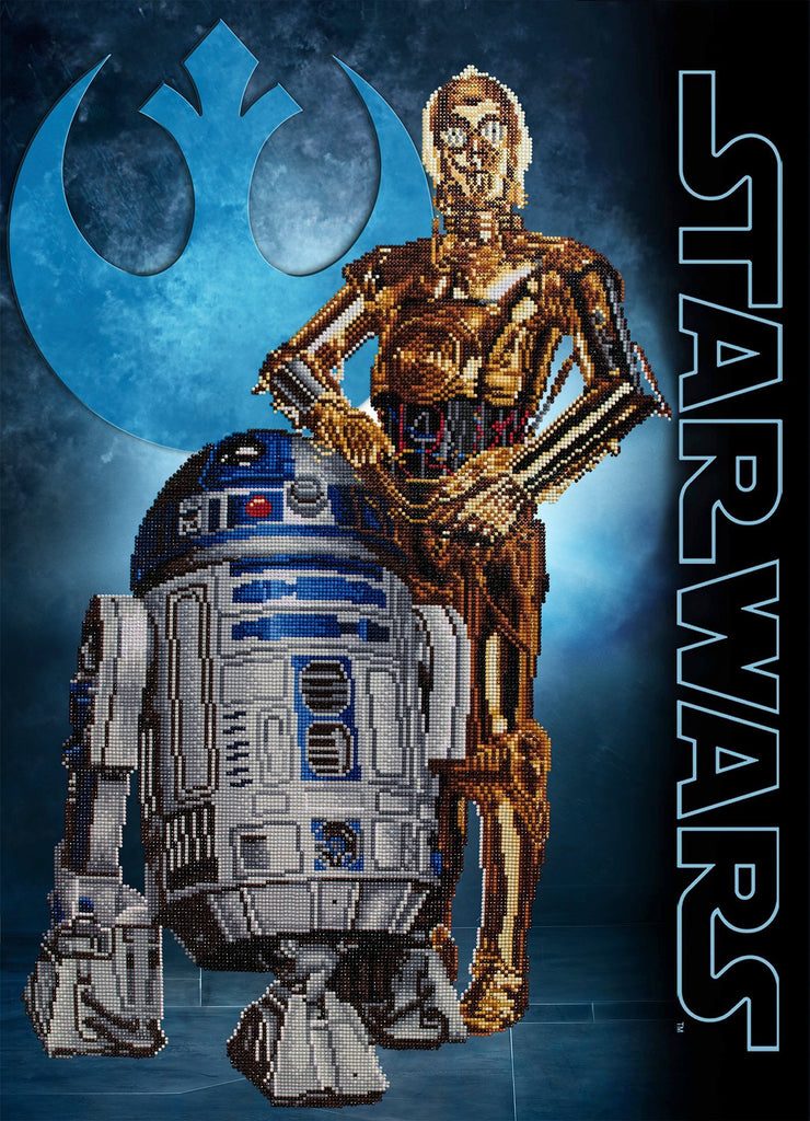 Diamond Dotz Star Wars Diamond Painting - Droids