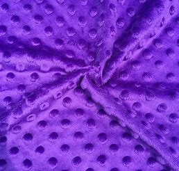Bubbles Velours 3039324 Price per inch 100% Polyester 240GSM Lavender