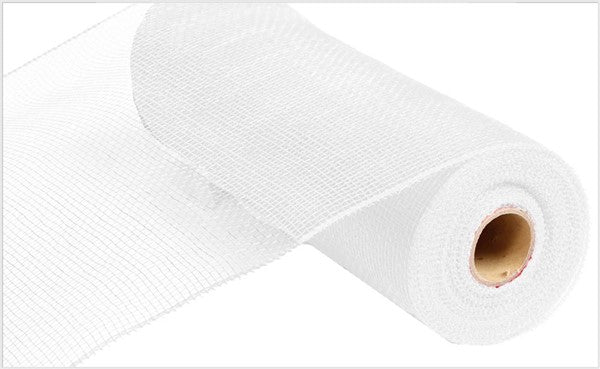 10''X10yd Value Mesh White