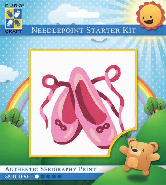 Learn to Needlepoint - Ballet Shoes