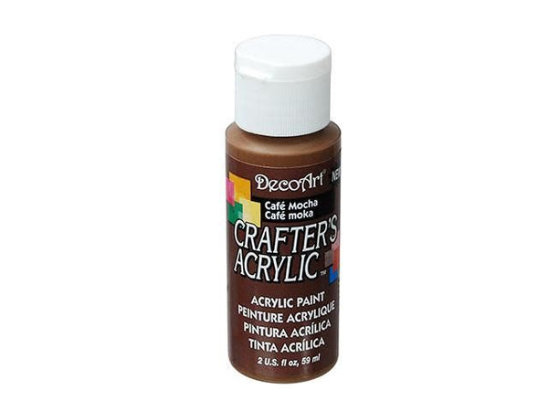 Crafters Acrylic Paint: 2oz Craft & Hobby Color 6