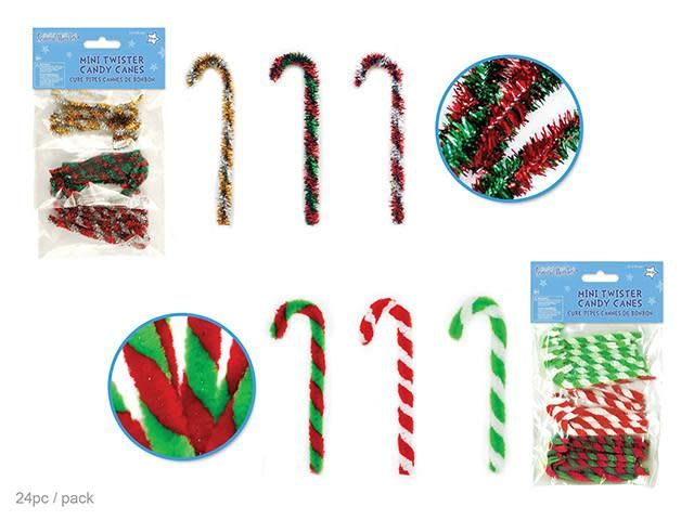 3.25'' Twisters' Mini Candy Canes