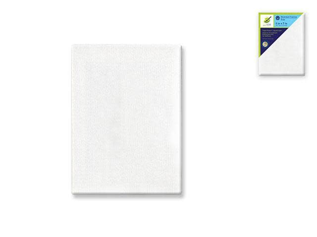 Stretch Artist Canvas: Rect. 5''x7'' Primed Back-Stapled
