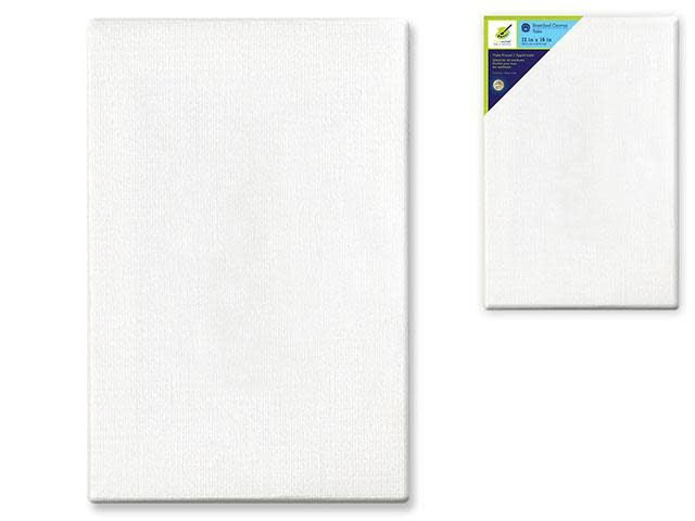 Stretch Artist Canvas: Rect. 12''x16'' Primed Back-Stapled