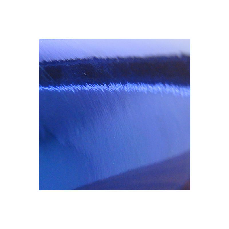 Deco Poly Chrome Polish Royal Blue 12'' x 12''