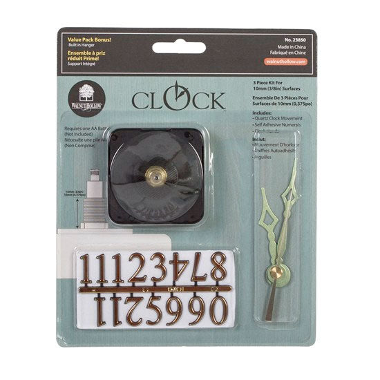"Clock Kit for dials up to 3/8"" thick"