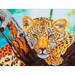 Diamond Dotz Diamond Embroidery Facet Art Kit 21.75''X17.25'' Leopard Look