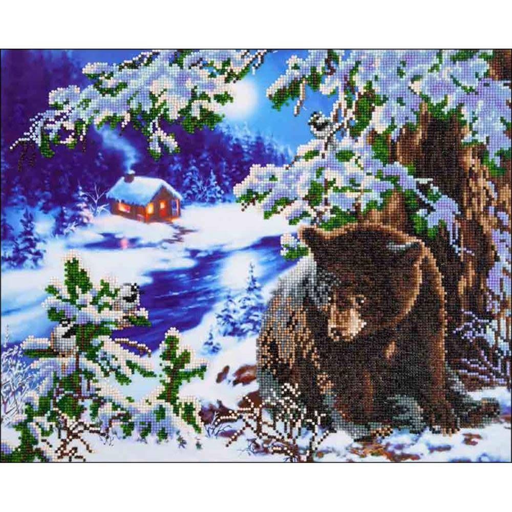 Diamond Dotz Diamond Embroidery Facet Art Kit 23.5''X19.5'' Rambling Bear