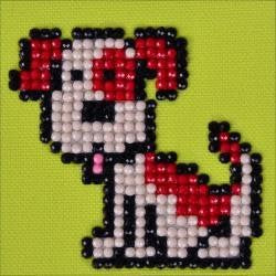 Diamond Dotz Diamond Embroidery Facet Art Kit 4.75''X4.75'' Fido
