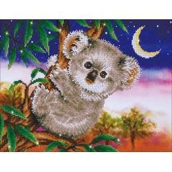 Diamond Dotz Diamond Embroidery Facet Art Kit 22''X17.75'' Koala Snack