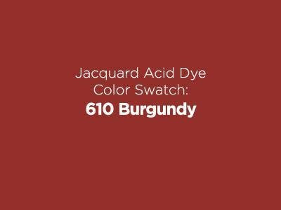 Jacquard Acid Dye 1/2oz - Burgundy