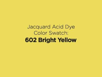 Jacquard Acid Dye 1/2oz - Bright Yellow
