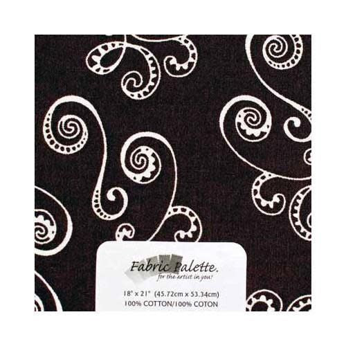 Fat Quarter Pre-Cut Fabric - Pink &  brown Collection 6 - 45 x 53cm (18'' x 21'')