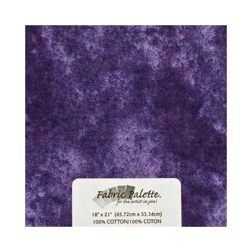 Fat Quarter Pre-Cut Fabric - Textured Purple - 45 x 53cm (18'' x 21'')