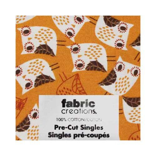 Fat Quarter Pre-Cut Fabric - Wild Woods Collection 3- 45 x 53cm (18'' x 21'')