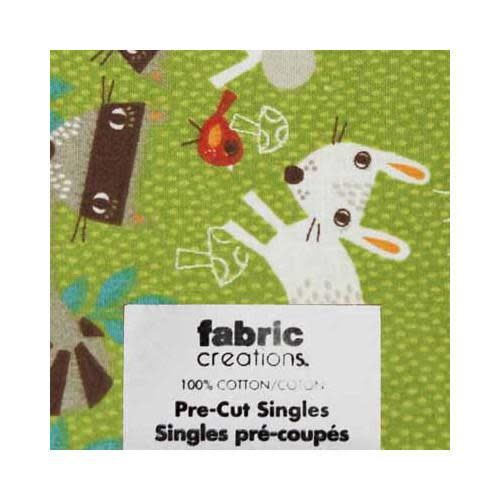 Fat Quarter Pre-Cut Fabric - Wild Woods Collection 6- 45 x 53cm (18'' x 21'')