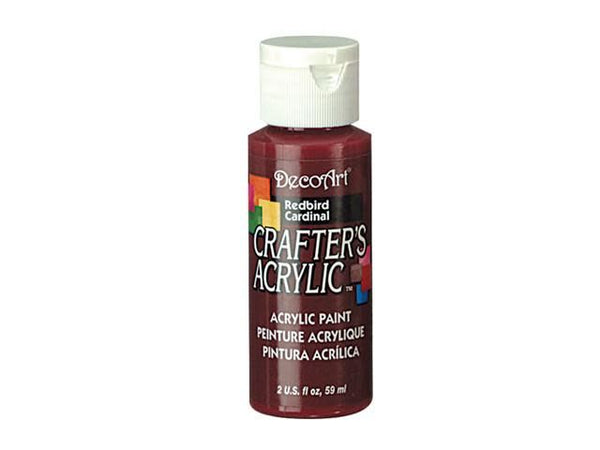 Crafters Acrylic Paint: 2oz Craft & Hobby Color 4