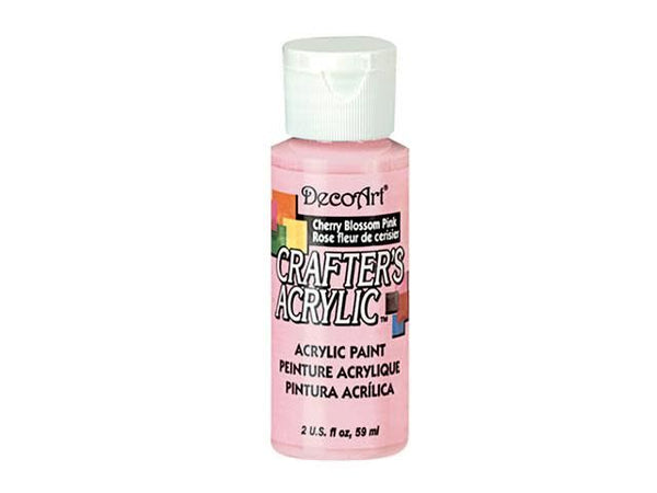 Crafters Acrylic Paint: 2oz Craft & Hobby Color 2