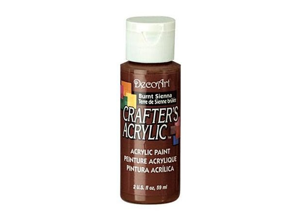Crafters Acrylic Paint: 2oz Craft & Hobby Color 1