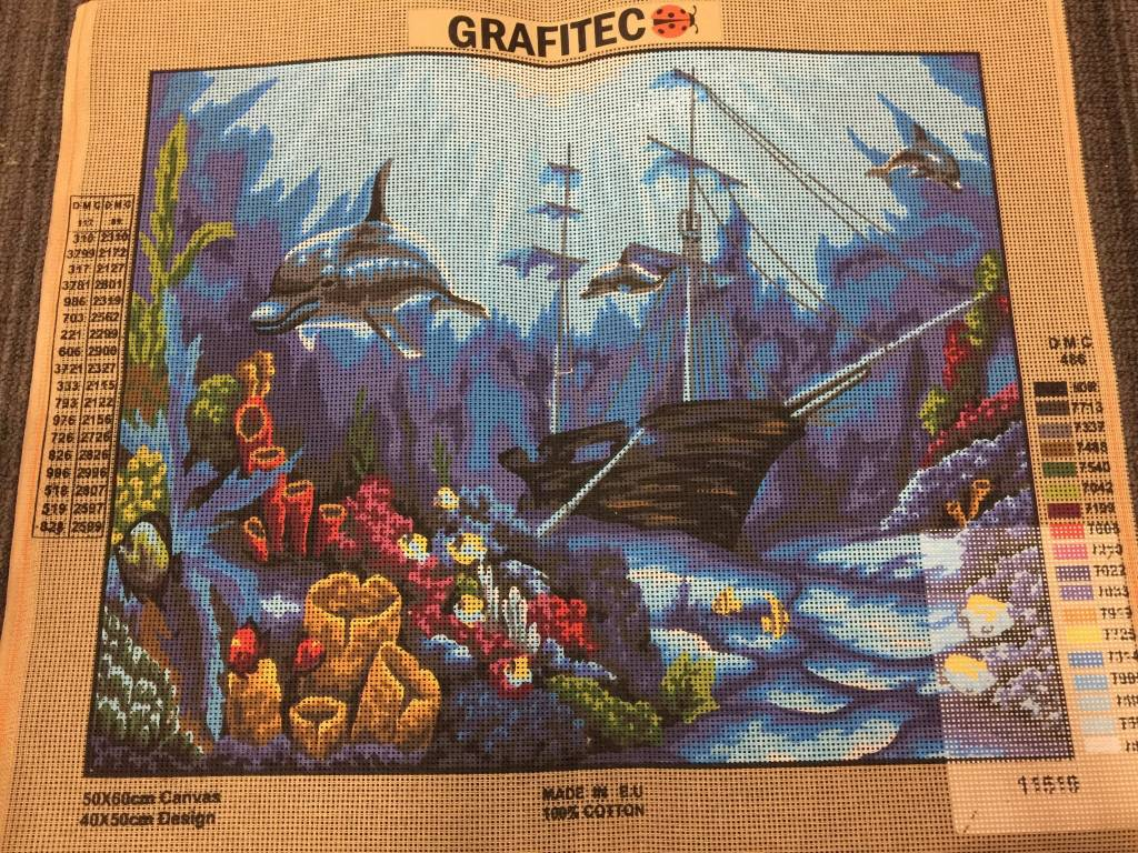 Underwater World Tapestry 11.519