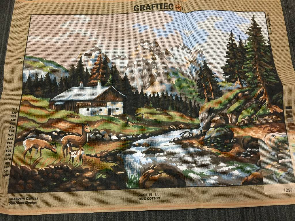 Mountain Chalet Tapestry 12.974