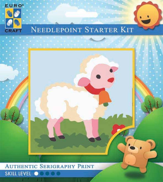 Learn to Needlepoint - Lamb