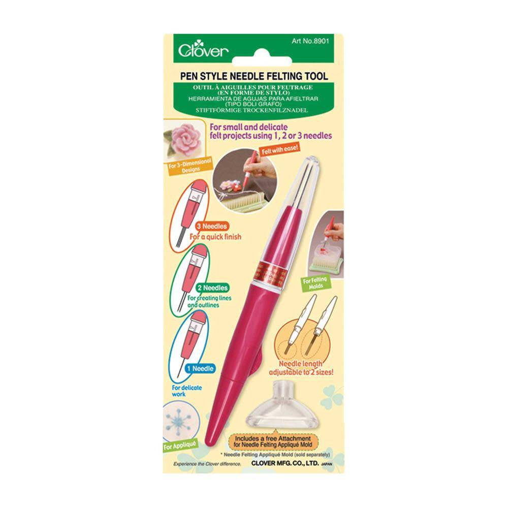 CLOVER 8901 - Pen Style Needle Felting Tool
