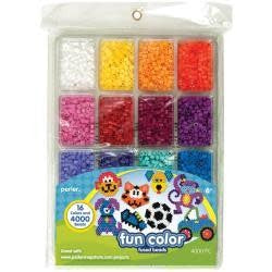 Perler Fused Bead Tray 4,000/Pkg Fun Color