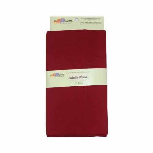 Poly-Cotton Fabric - Burgundy - 1.8 x 1m (2yds x 42'')