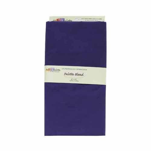 Poly-Cotton Fabric - Purple - 1.8 x 1m (2yds x 42'')