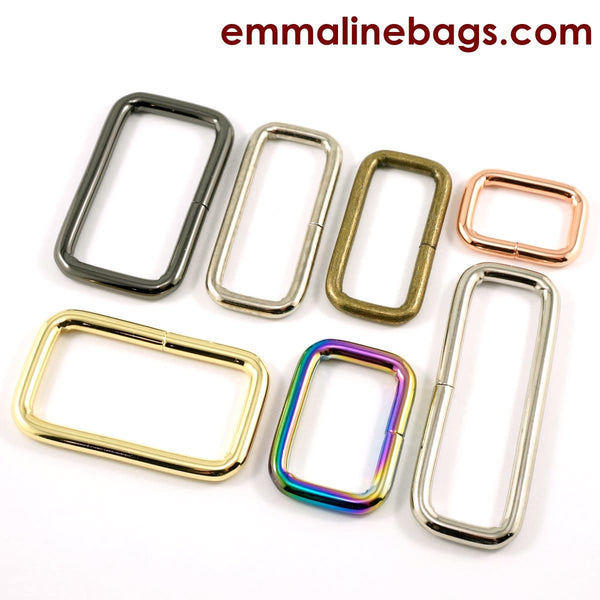 Emmaline Bags Rectangular Rings (4 pack)