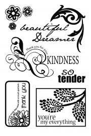 Clear stamp, Beautiful Dreamer