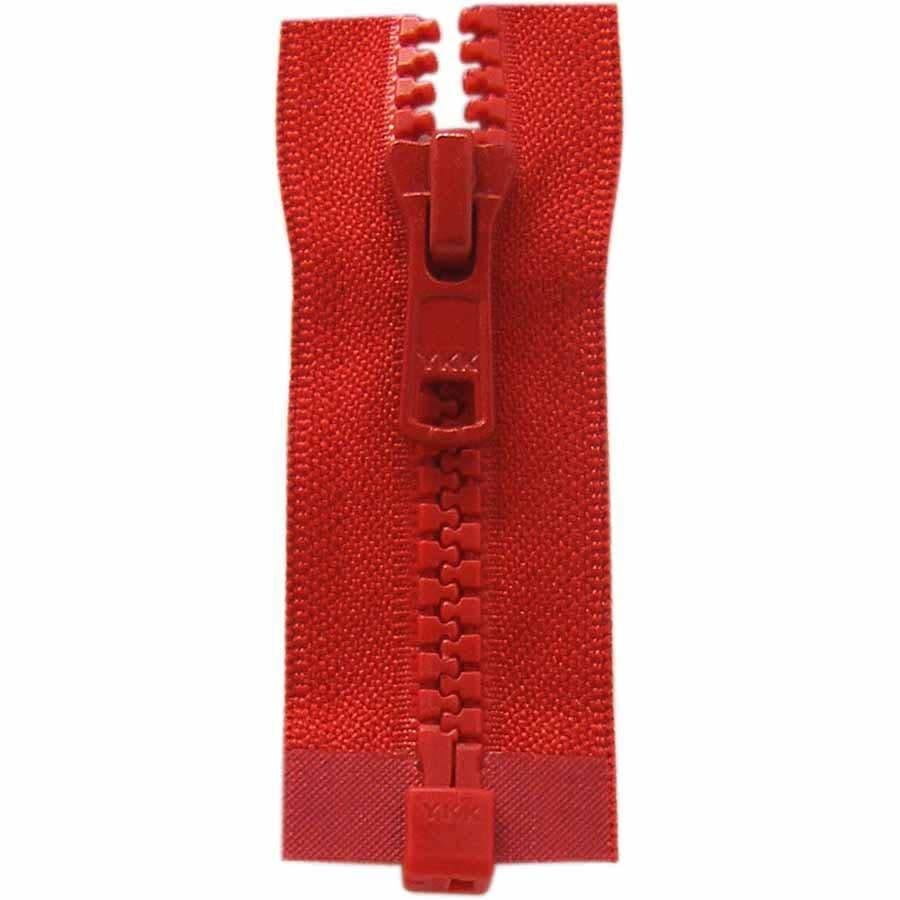 COSTUMAKERS Activewear One Way Separating Zipper 65cm 26''HotRed1764