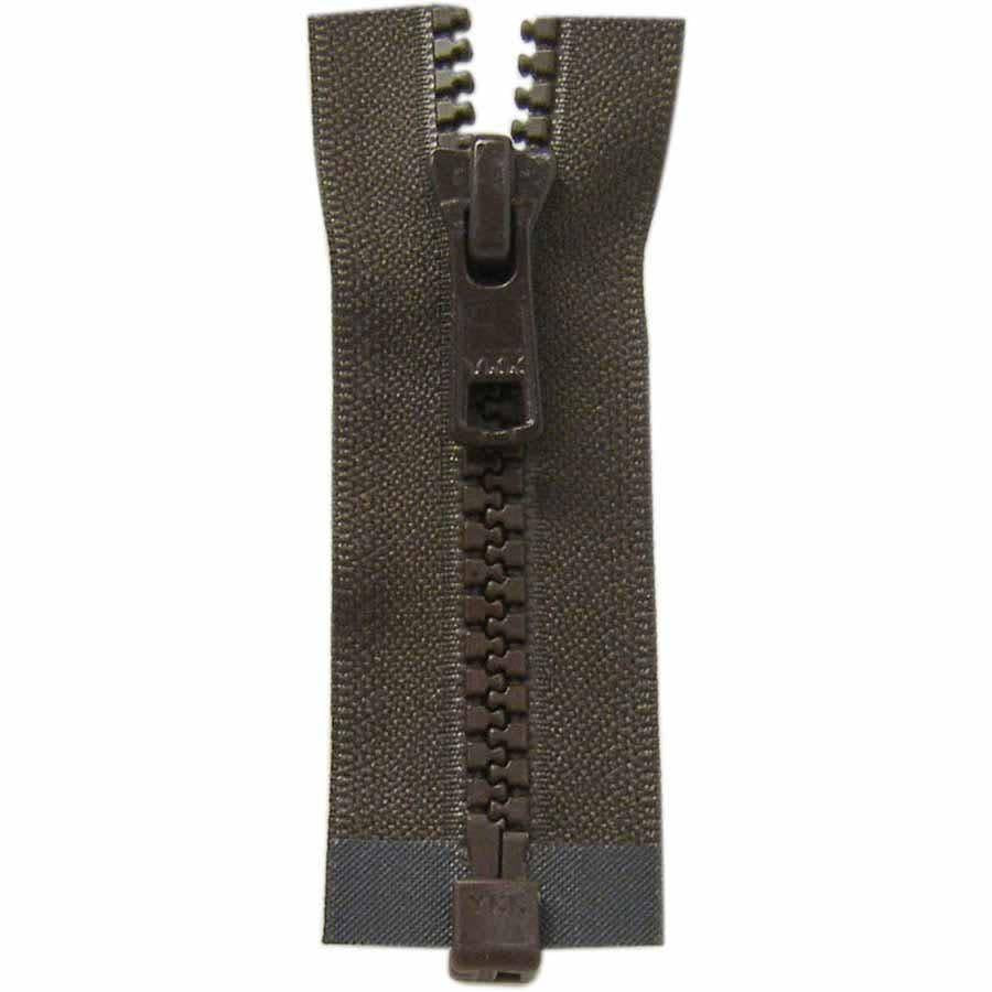 COSTUMAKERS Activewear One Way Separating Zipper 35cm 14''Sept.brown 1764