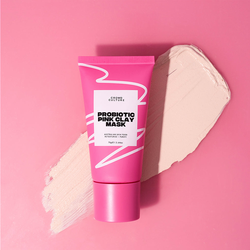 Probiotic Pink Clay Mask