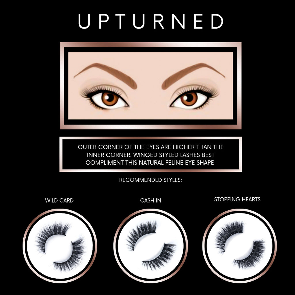 Upturned Eye Shape