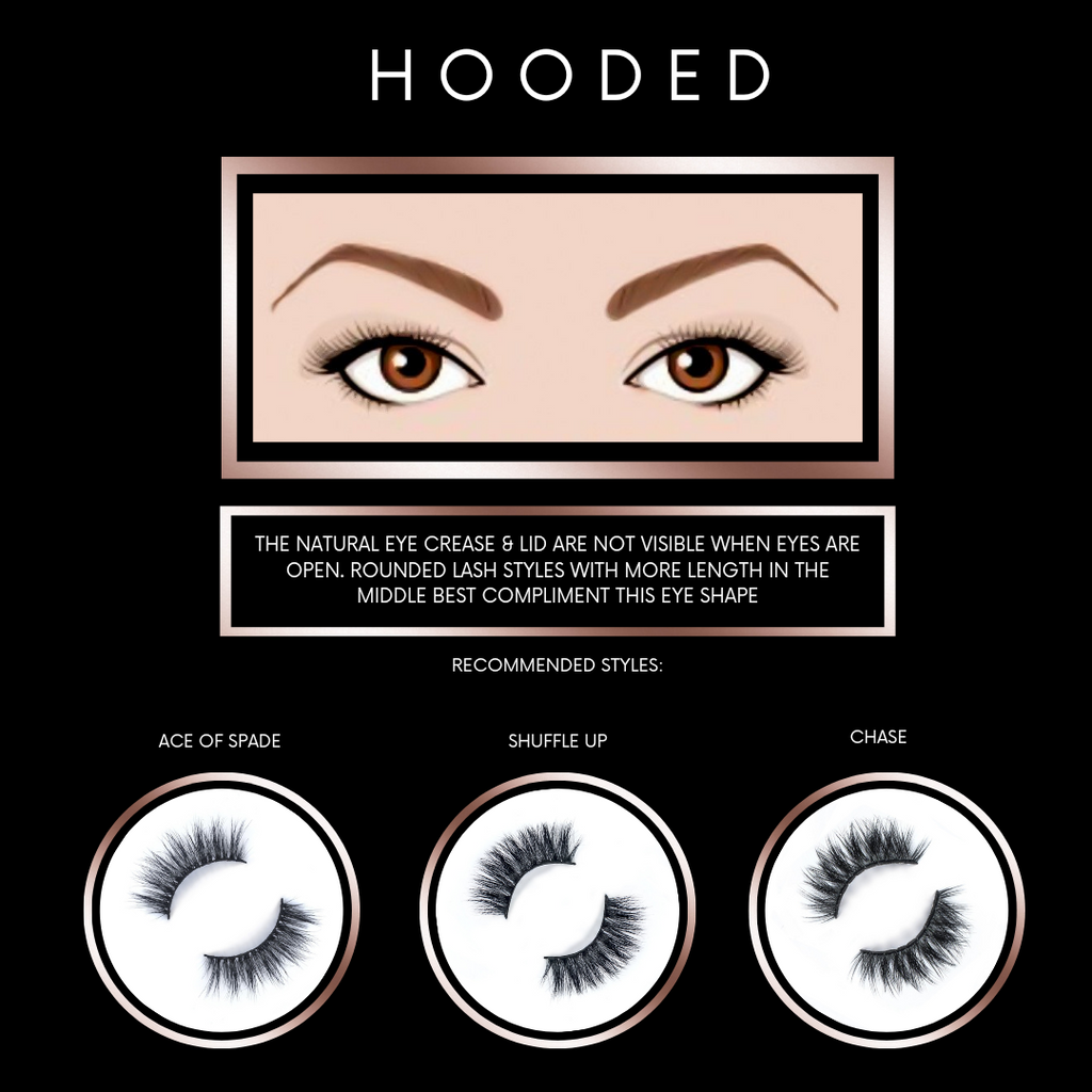 Find Lash Styles for Hooded Eye Shapes