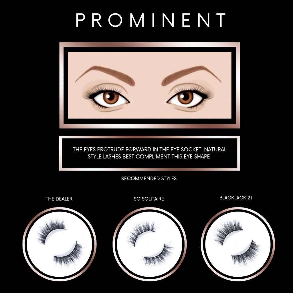 Finding Lashes for Protruding or Prominent Eye Shapes