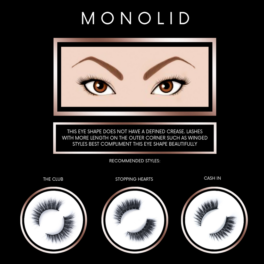 Finding Lashes for Monolid Eye Shapes