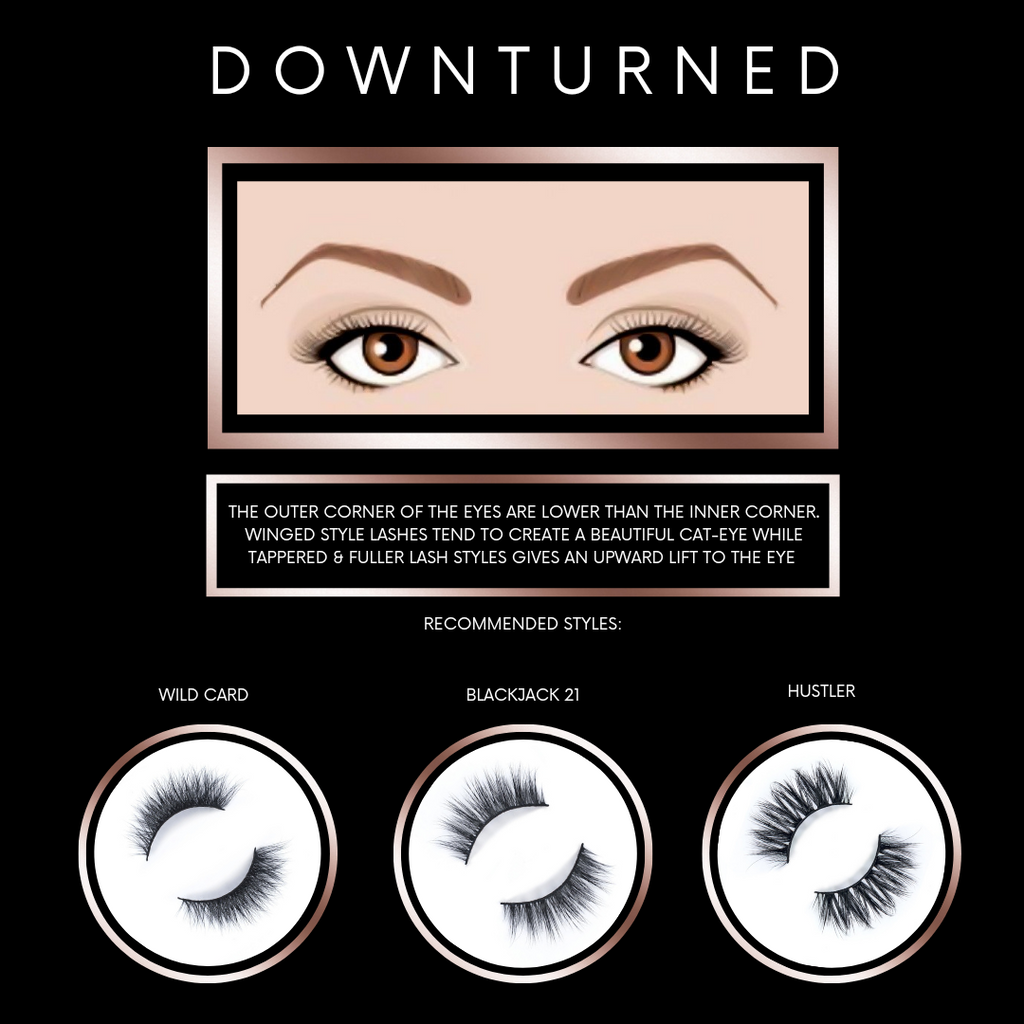 Find the Perfect Lash Styles for Downturned or Droopy Eye Shapes
