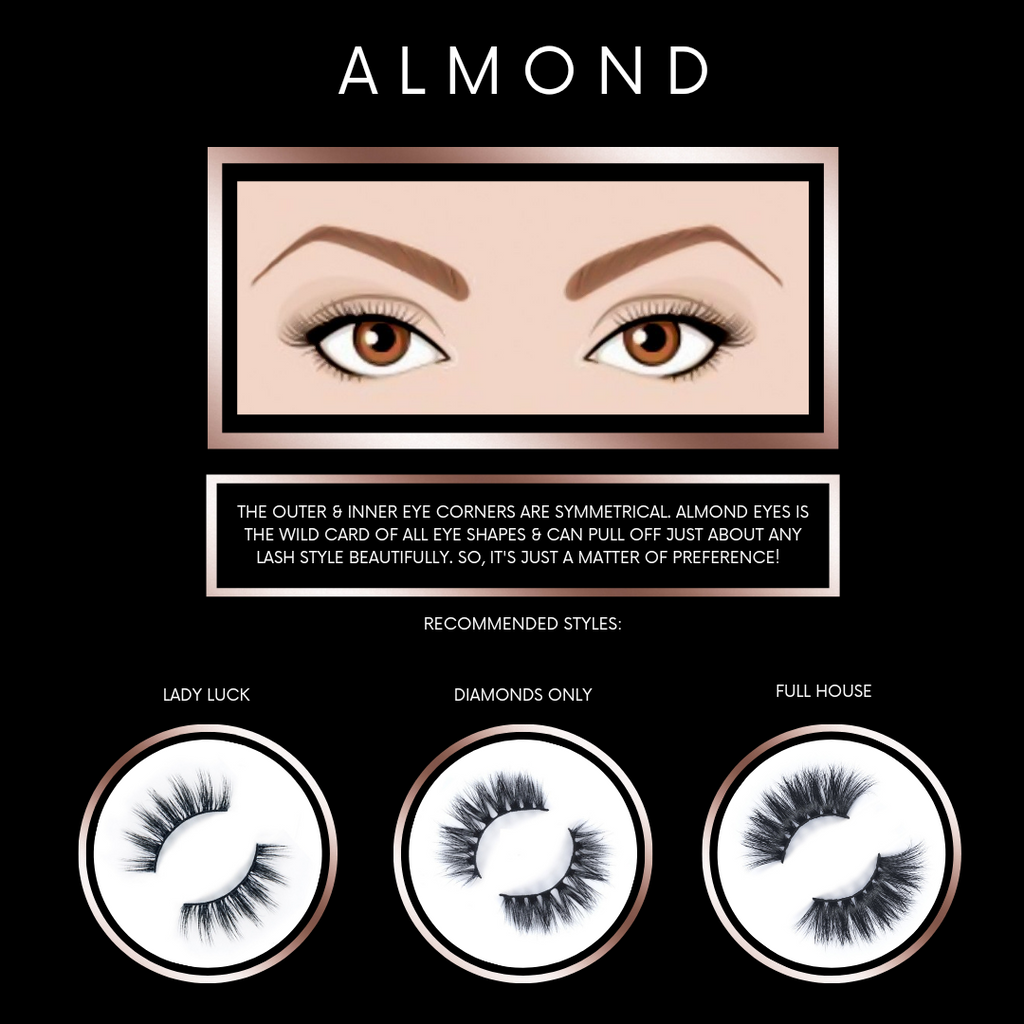 Find the Perfect Lash Style for Almond Eye Shapes